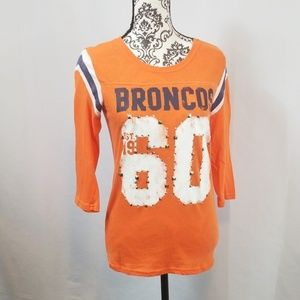 PINK Denver Broncos Tee